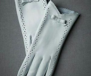 gloves, lace, and leather image