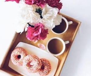christmas, coffee, and dessert image
