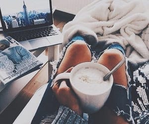 coffee and jeans image