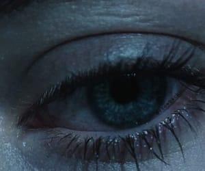 alternative, blue eye, and dark image