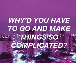 Avril Lavigne, complicated, and lilac image