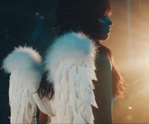 angel, blue, and fashion image
