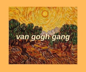 wallpaper, van gogh, and yellow image