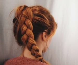 diy, hairstyles, and red hair image