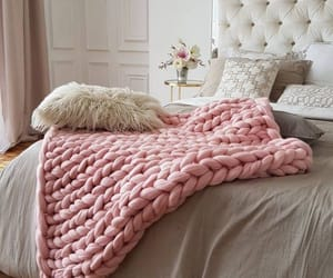 accessories, bedroom, and throw image