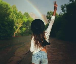 brown, girl, and happiness image
