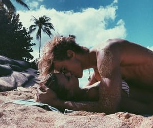 beach, goals, and relationships image