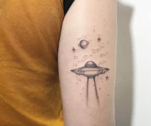 girl, inspiration, and planets image