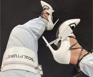 heels and off white image