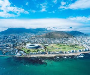 blue, cape town, and ocean image