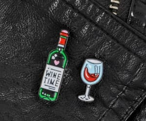 accessories, bottle of wine, and drink image