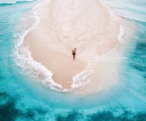adventure, beach, and blue image