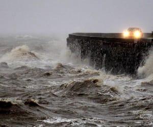 ireland, sea, and storm image