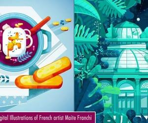 art, digital illustrations, and digital artworks image