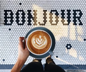coffee and bonjour image