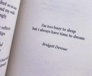 quotes, Dream, and thoughts image