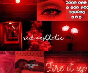 red aesthetic image
