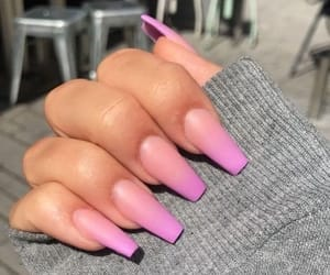 girly, long, and matte image