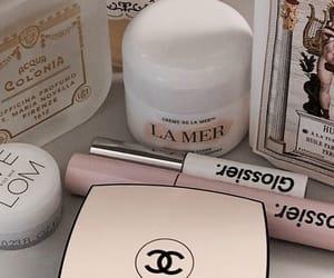 makeup, skincare, and glossier image