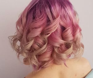 colorful, colors, and hairstyle image