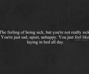 sad, quotes, and sick image