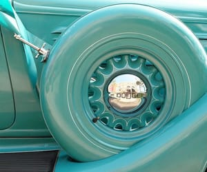 automobiles, teal, and cars image