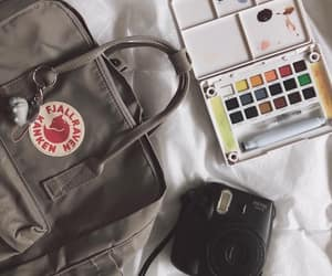 aesthetic, backpack, and college image