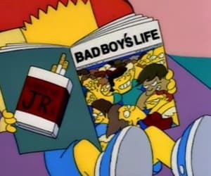 simpsons, bart, and boy image