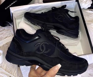 chanel, shoes, and blacks image