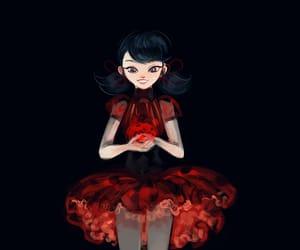 Chat Noir, marinette cheng, and ladybug image