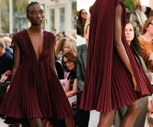 dress, haute couture, and luxury image