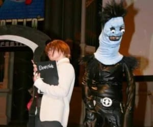 anime, black, and death note image