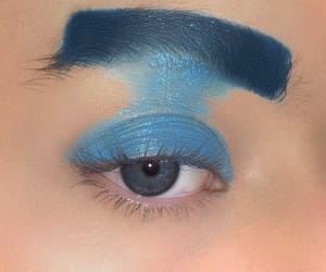 blue, cosmetic, and cosmetics image