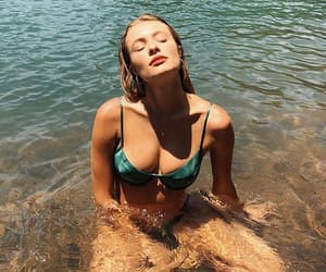 beauty, bikini, and blonde image
