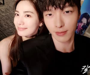 couple, Nana, and Korean Drama image