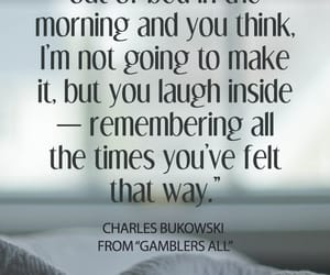 books, quotes, and Bukowski image
