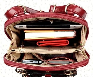 accessories, bag, and red image
