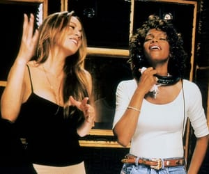Mariah Carey and whitney houston image