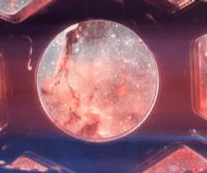 aesthetic, cosmos, and gif image