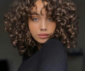 aesthetic, beautiful, and curly image