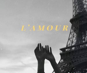 black and white, eiffel tower, and foreign image