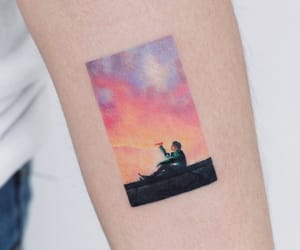 tattoo, bts, and spring day image