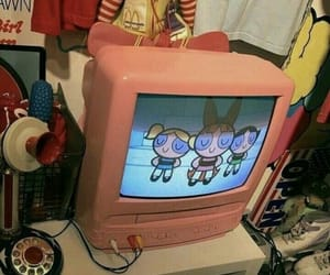 vintage, pink, and 90s image