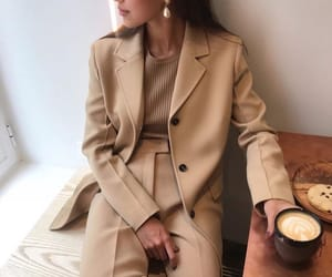 beige, fashion, and golden image