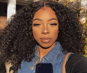 curly hair, eyebrows, and highlight image