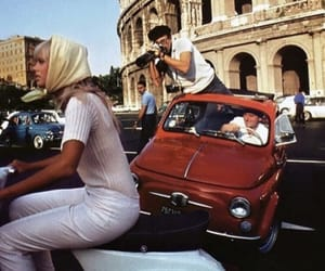 rome, vintage, and italy image