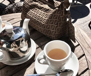 bag, fashion, and tea image