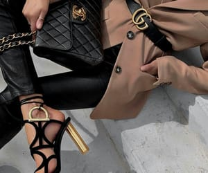 fashion, high heels, and gucci image