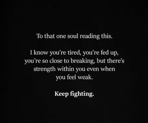 fighting, hope, and strength image