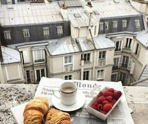 paris, coffee, and food image